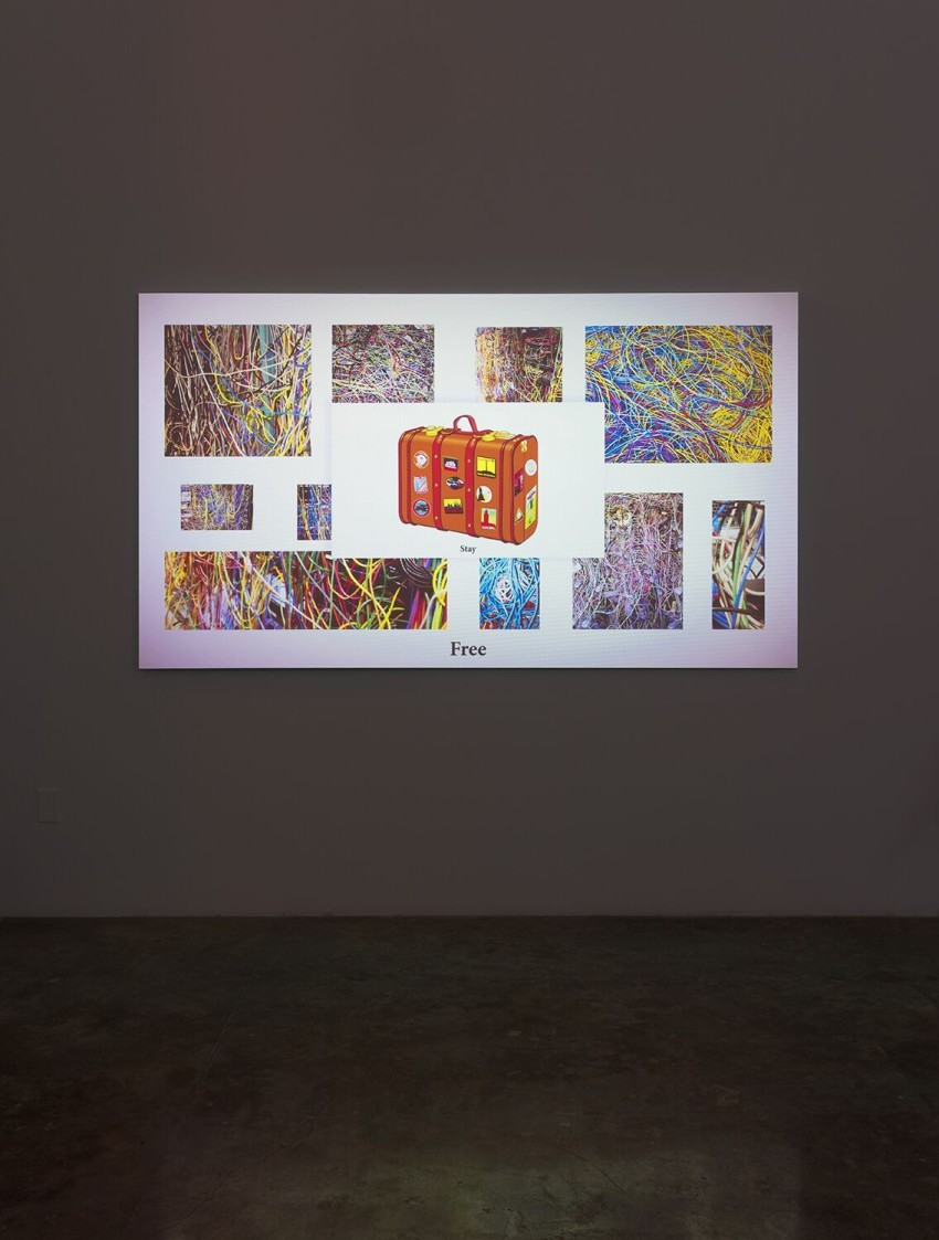 Michael Bell-Smith, The Diet (2016). Installation view. Image courtesy of the artist and Kayne Griffin Corcoran, Los Angeles. Photo: Robert Wedemeyer