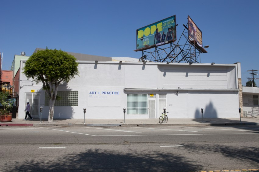 The A+P campus from Leimert Boulevard in Leimert Park, Los Angeles. 16 June 2015. Photo: Natalie Hon.