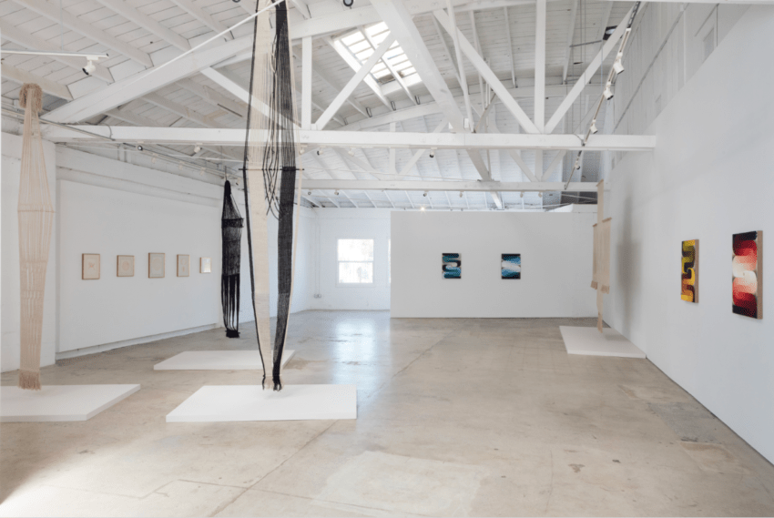 3 Women at The Landing (installation view). Image courtesy of the artists and the Landing, Los Angeles. Photo: Joshua White/JW Pictures.