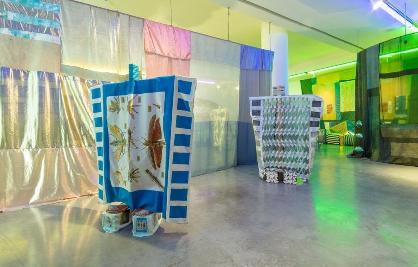 Tamara Henderson: Seasons End: Panting Healer (installation view) (2016). Image courtesy of the artist and REDCAT. Photo: Brica Wilcox.