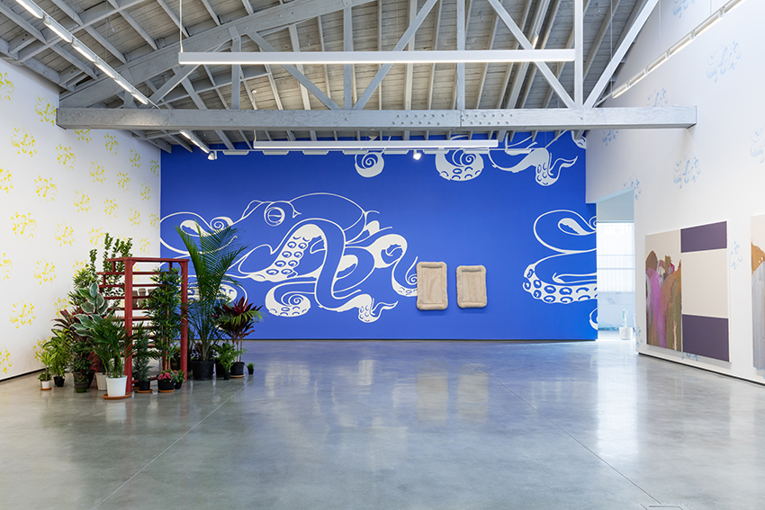 John Armleder at David Kordansky Gallery