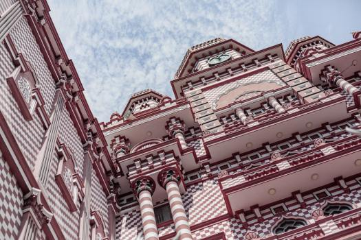 Tnhings to do in Colombo - red mosque