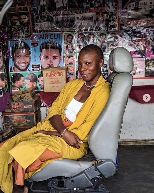 Jessica Nabongo in Lilongwe, Malawi. The first black woman to visit every country in the world.