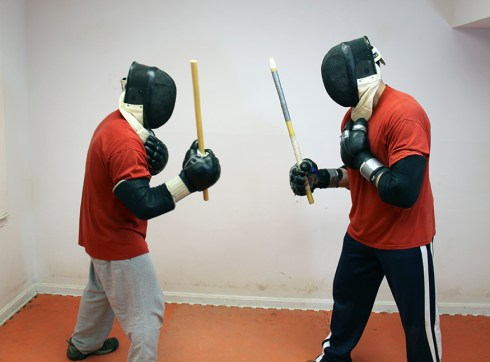 Stick Fighting Training