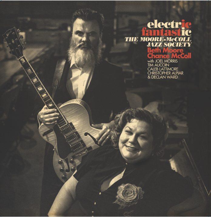 Soulful spirited organ guitar jazz Moore-McColl Jazz Society