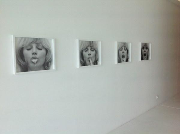 "Natalia LL, Untitled, from the series Postconsumer Art, Natalia LL ""The Grammar of The Body"", UPP Gallery in Venice, photo Lynx"