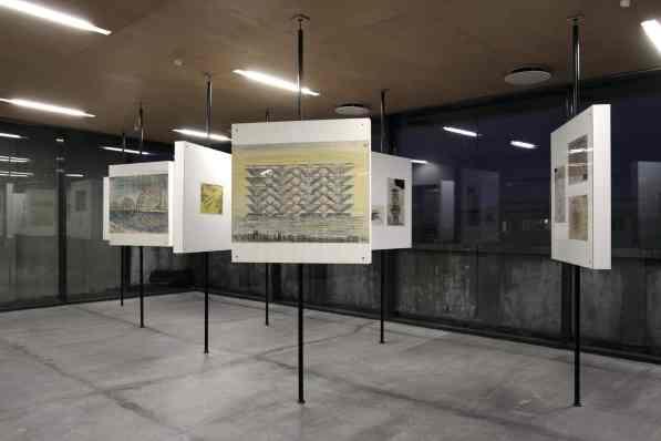 Display view, Jan Głuszak Dagarama. Z Trudu Słońca, Avant-Garde Institute in Warsaw, 2012, photo Mateusz Sadowski, courtesy of The Foksal Gallery Foundation.