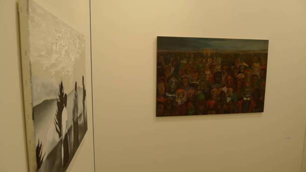 Jakub Julian Ziółkowski, Wilhelm Sasnal, Foksal Gallery Foundation, Hall 2.1 / H9, photo Andrzej Szczepaniak for Contemporary Lynx