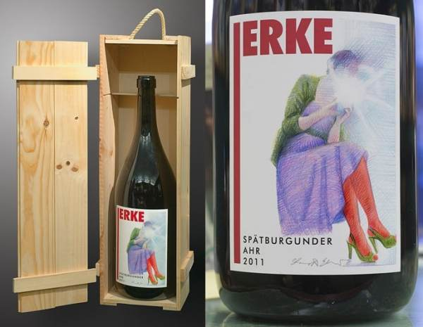 """Edition Jerke"" Pinot Noir 2011, Weinzer Kreuzberg, courtesy dr Werner Jerke, Konrad Szukalski form Agra-Art Auction House"