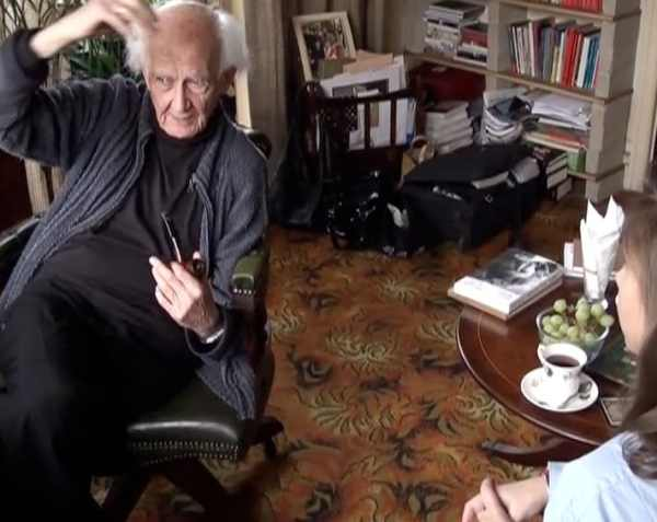 "Zuzanna Janin, ""Majka from the Movie"", 2009-2012 (with Zygmunt Bauman), video stills, photo courtesy Zuzanna Janin"