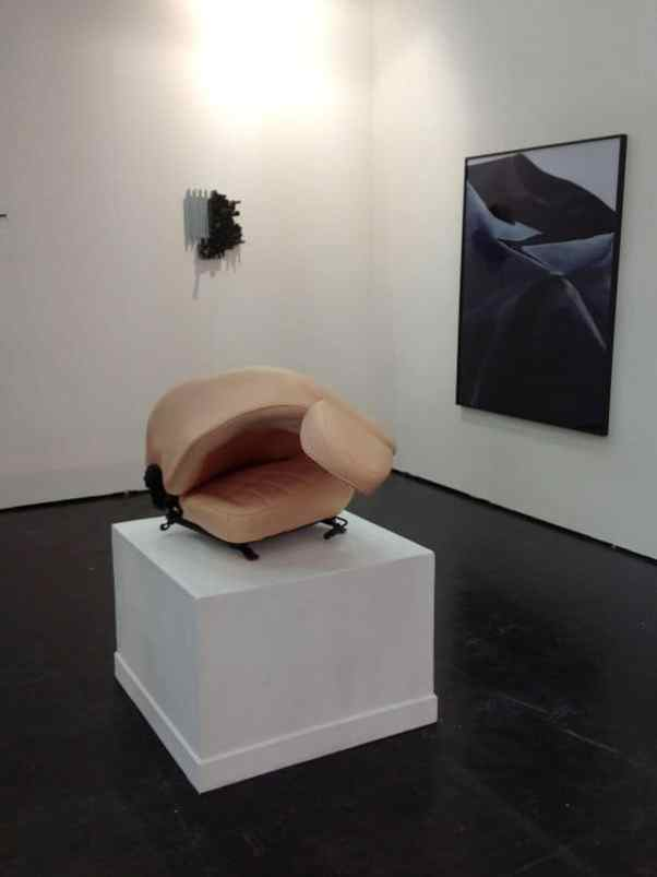 Ewa Axelrad, BWA Warszawa, booth C3, photo Contemporary Lynx