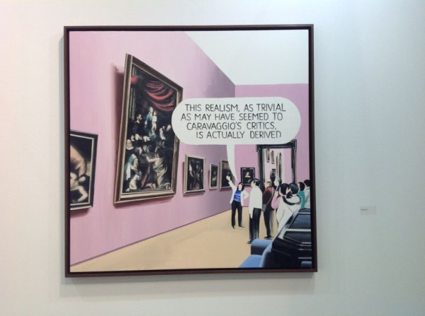 Marcin Maciejowski, Galerie Meyer Kainer, booth F4, photo Contemporary Lynx
