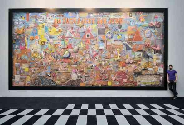 "Tymek Borowski, ""Because it is, how it is"" Views 2013 – Deutsche Bank Foundation Award, Zachęta – National Gallery of Art, Warszawa, 14.09 - 17.11.2013, courtesy of artist"