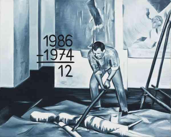 Marcin Maciejowski, 1986-1974 12 Wlodzimierz Pawlak, 40 x 50 cm, 2012, photo courtesy the artist