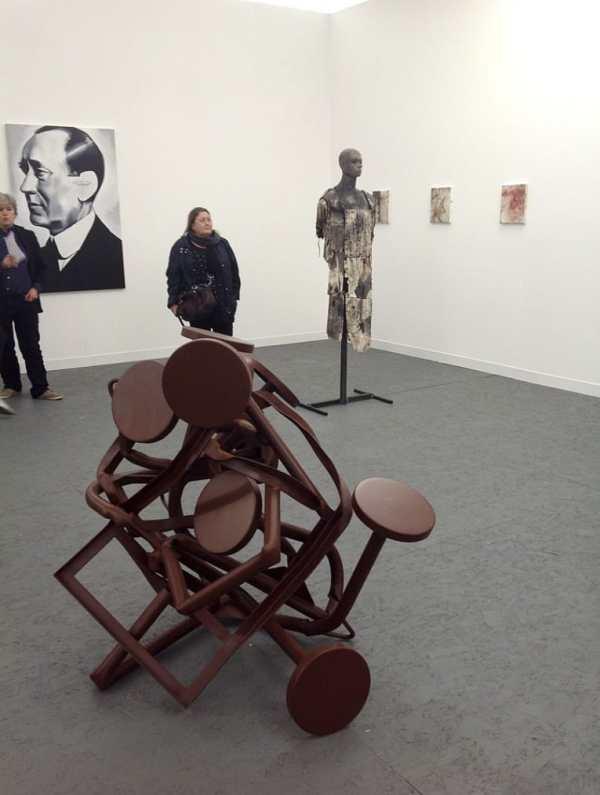 Monika Sosnowska, Wilhelm Sasnal, Paweł Althamer, Piotr Janas, Foksal Gallery Foundation, Stand E4, photo Contemporary Lynx