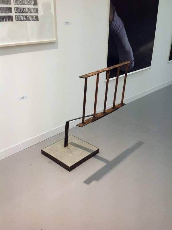 Mirosław Bałka, Galería Juana de Aizpuru, Stand G6, photo Contemporary Lynx