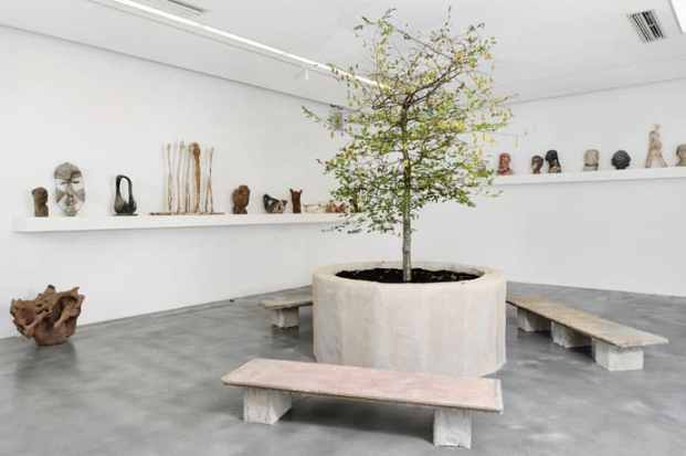 Goshka Macuga, When was Modernism? Installation view, Iniva at Rivington Place, photo: Thierry Bal, courtesy of Iniva
