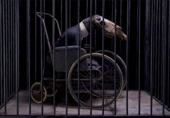 Jan Manski, Horseman VII, 2012 / 223 x 188 x 128 cm, photo courtesy the artist