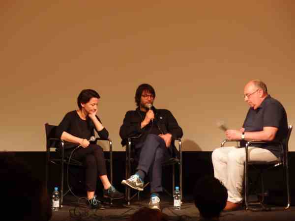 Anka and Wilhelm Sasnal, Q&A, ICA London, Aleksander documentary, screening May 2014,