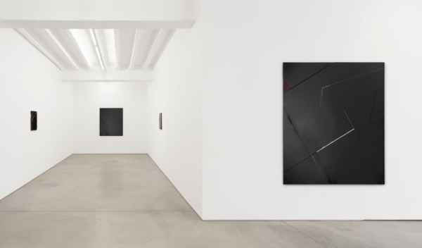 Jochen Hempel Gallery, works of Natalia Załuska, exhibition view, courtesy of the gallery