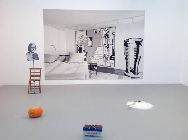Goshka Macuga, Andrew Kreps Gallery at Frieze London, October 2014, photo Contemporary Lynx