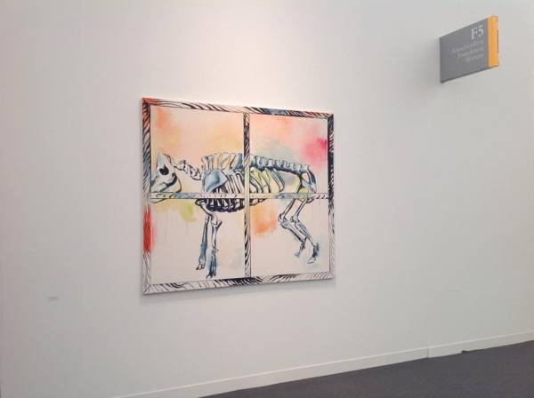 Wilhelm Sasnal, Foksal Gallery Foundation at Frieze London, October 2014, photo Contemporary Lynx