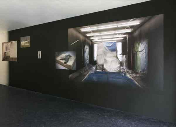 Jagna Ciuchta, Spin-off, 2014, installation view, Glassbox, Paris. Photo © Jagna Ciuchta