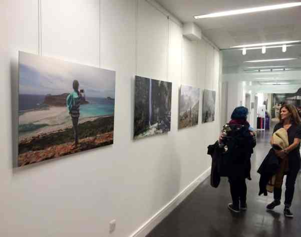 Artur Urbanski, exhibition view: 'Live View' at the University of Derby in Derby, FORMAT International Photography Festival 2015, photo Artur Urbanski