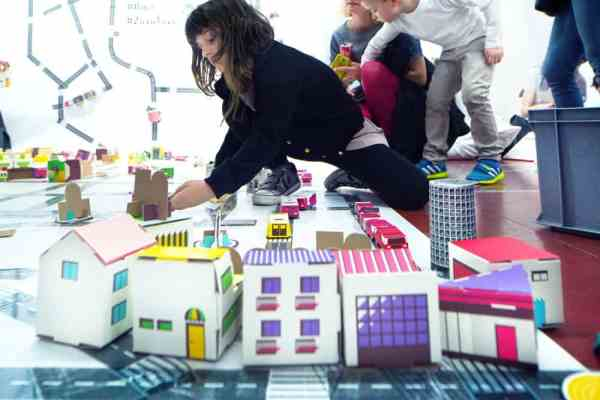 Boomini modern dollhouses, Do It Your Way. Polish Design in Pieces, curated by Ewa Solarz & TABANDA group, Fuorisalone, Milano Jan Lutyk, Milan, April 2015
