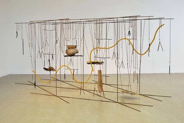 Iza Tarasewicz THE MEANS THE MILIEU, Objectif Exhibitions, 2014 photo by Isabelle Arthuis courtesy of the artist