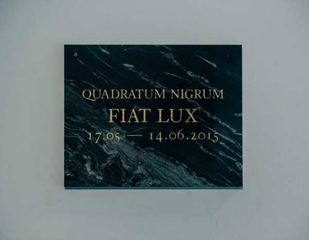 Quadratum Nigrum: Mateusz Okoński, Jakub Skoczek and Jakub Woynarowski, 'Fiat Lux' 2015 Krkow, photo courtesy the artists and Bunkier Sztuki