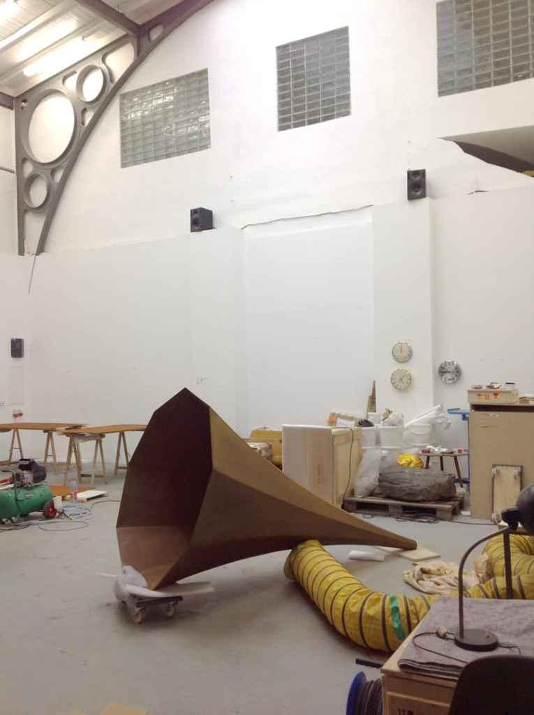 Alicja Kwade's Studio, Berlin 2015, photo Contemporary Lynx