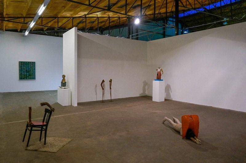 Albert Szukalski, exhibition view, The Verbeke Foundation. Photo by Marek Wolynski