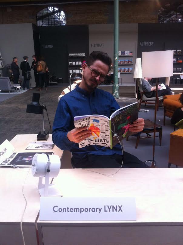 Lynx Magazine at Art Brussels
