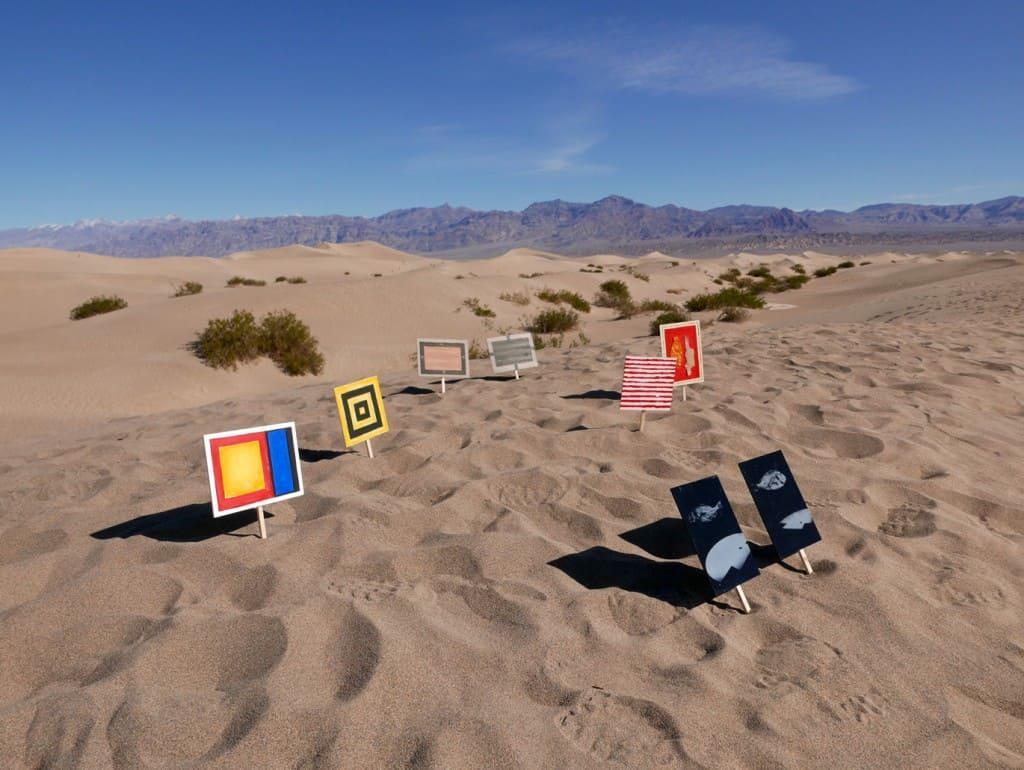 """Life Valley"" — Adam Rzepecki, Ignacy Czwartos, Marcin Gierat and Piotr Lutyński; Death Valley, USA 2016, photo A. Rzepecki"