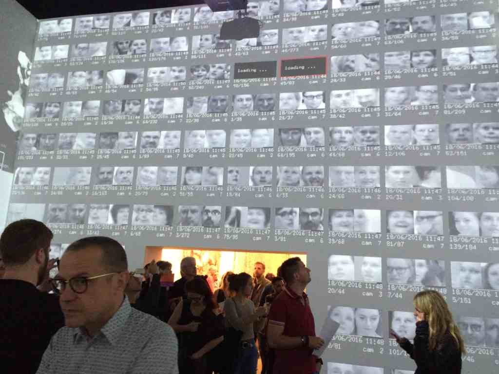 "Rafael Lozano-Hemmer and Krzysztof Wodiczko, ""Zoom Pavilion"", Art Unlimited, Art Basel 2016, photo Contemporary Lynx"