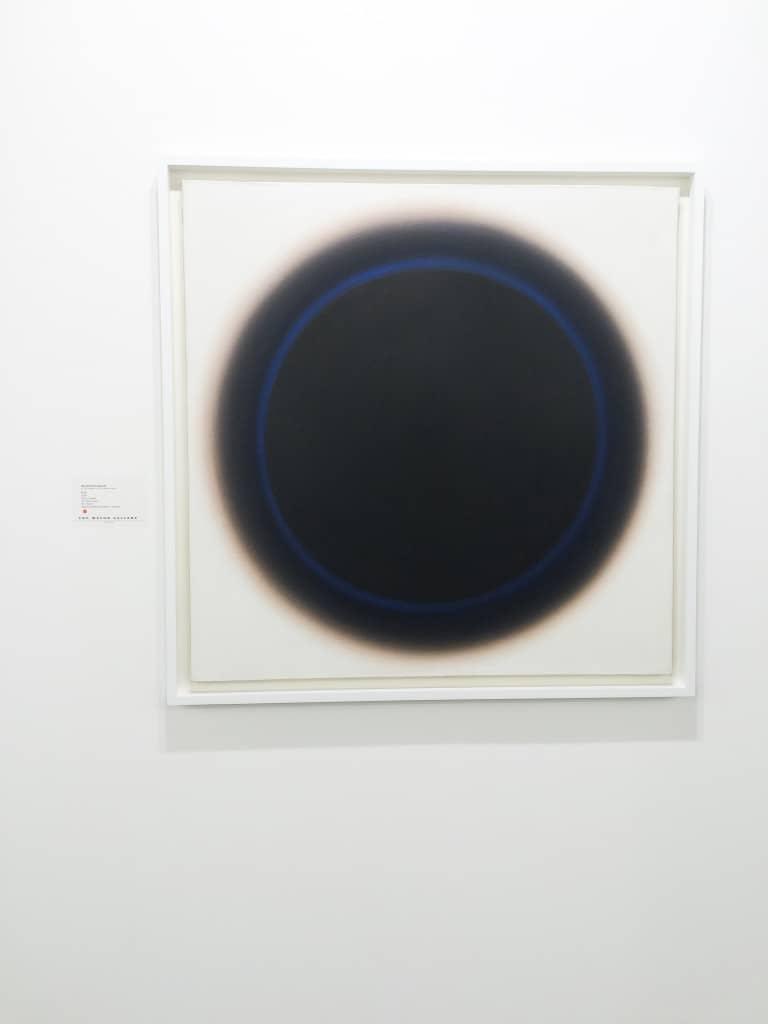 Wojciech Fangor, Art Basel 2016, photo Contemporary Lynx