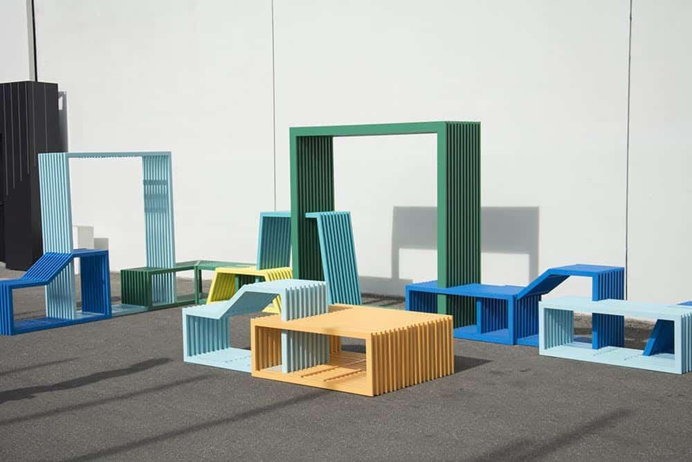 Izabela Bołoz, Intersections, Milan Design Week, 2015, courtesy of the designer