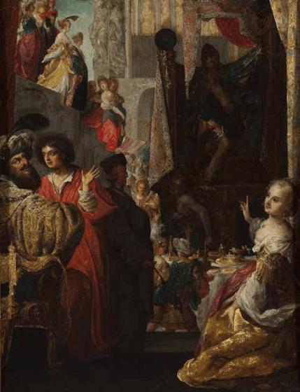 Wrocławska Europa_B.Strobel_Daniel i król Cyrus przed Baalem