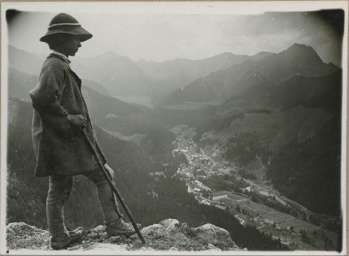Walery Eliasz Radzikowski, Highlander in alpine tundra, III-7345-F-sygn-m-III-12192