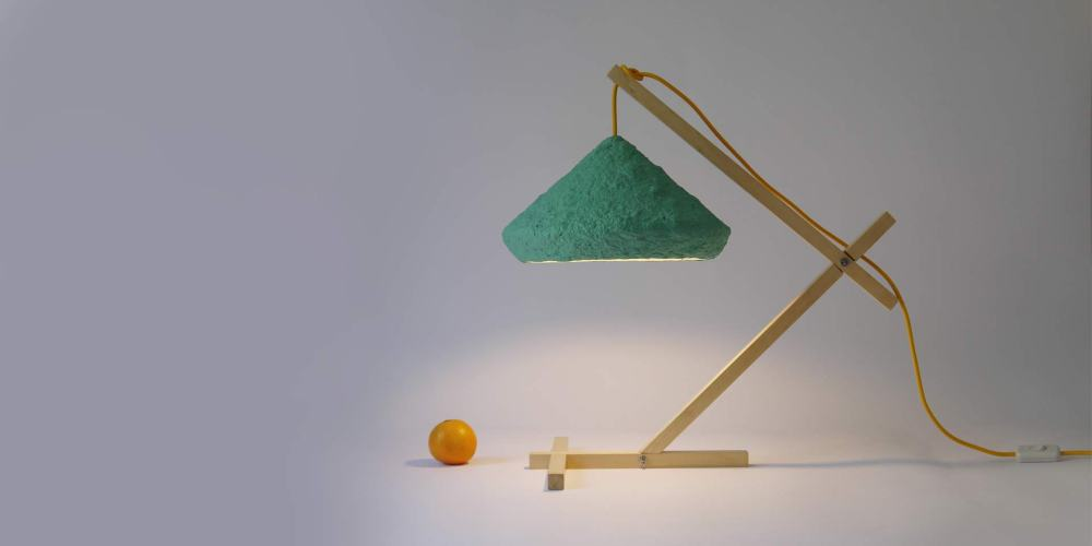 Desk lamp Mizuko Green by CreaRe Studio