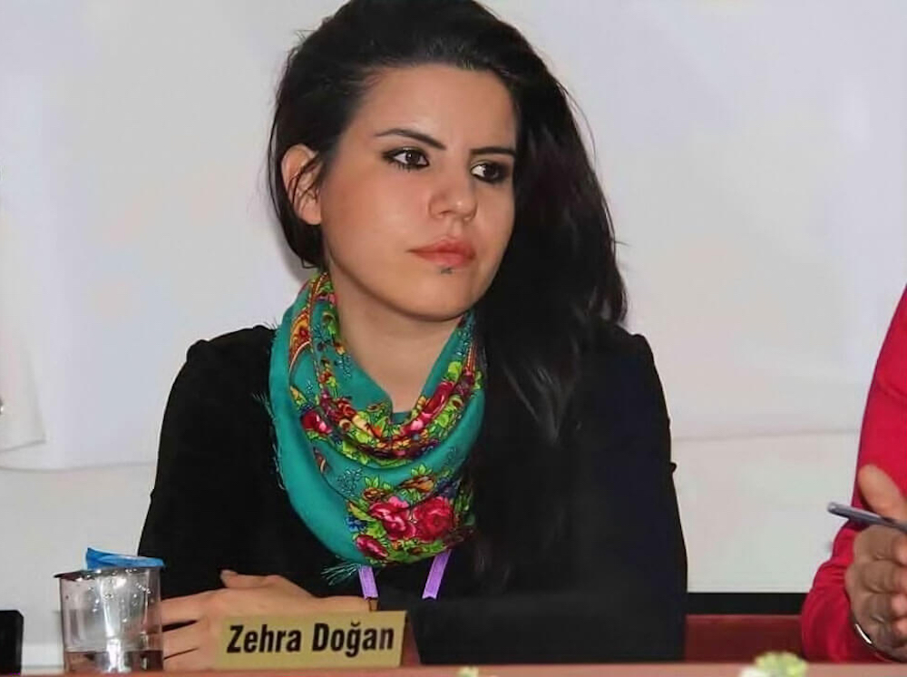 Zehra Doğan, Courtesy the Voice Project.