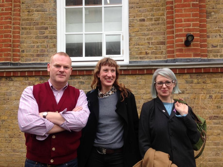 George Shaw, Caroline Achaintre, Elizabeth Price