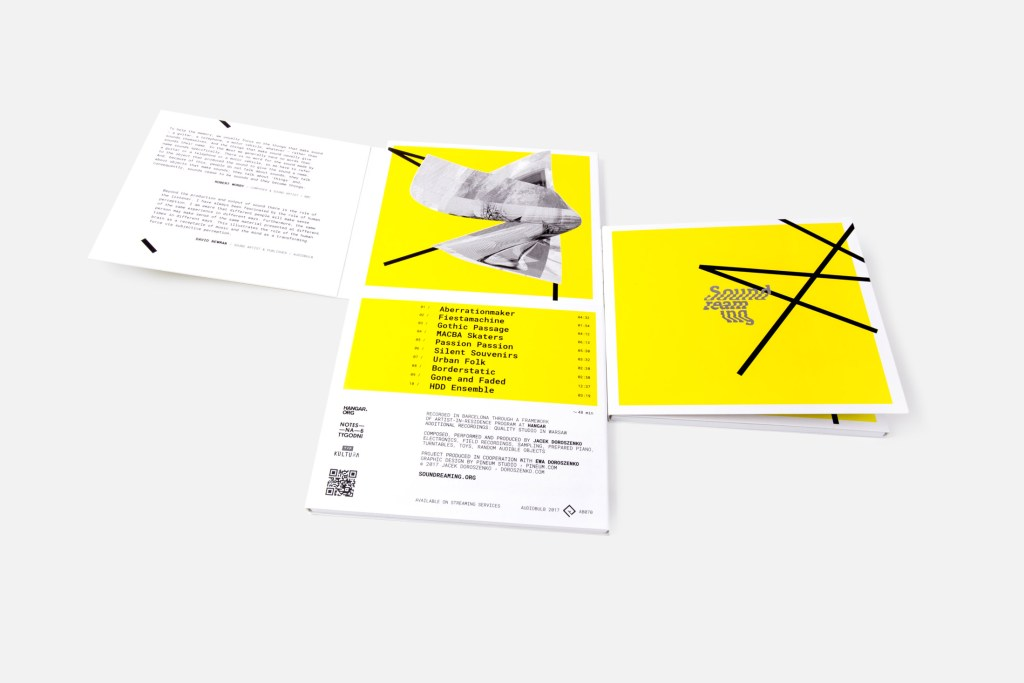 """Jacek Doroszenko and Ewa Doroszenko, audio-visual project """"Soundreaming"""""""