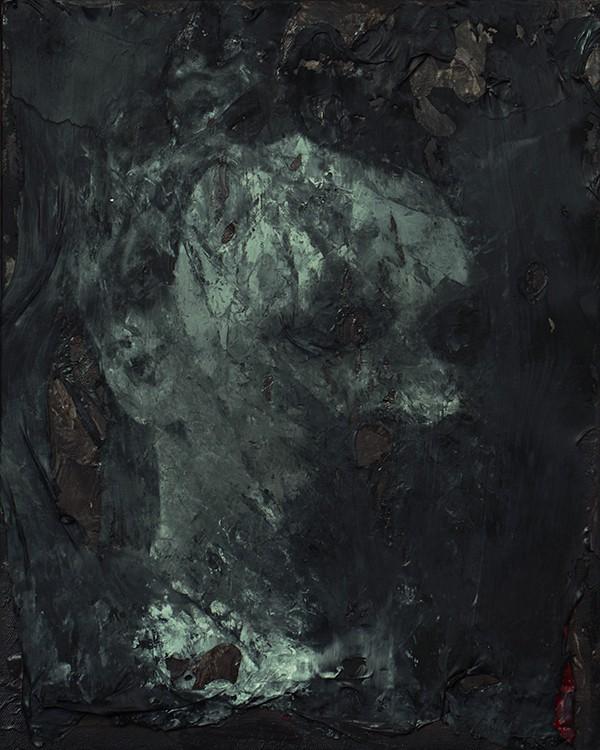 Paweł Baśnik, F.N. 1844-1900, oil and acril painting on canvas, 50x40cm, 2017