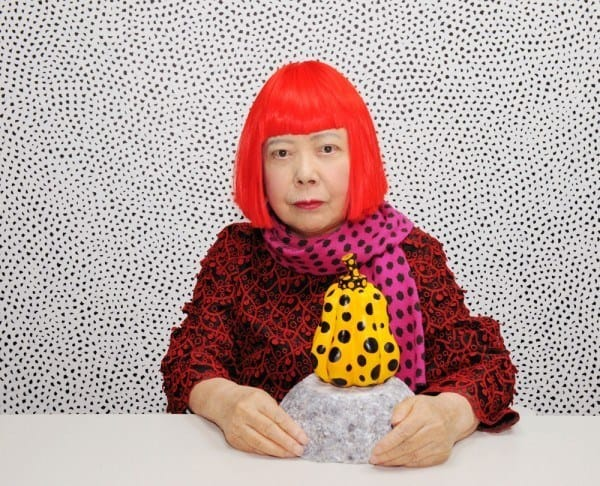 Yayoi Kusama, 2010, via David Zwirner Gallery