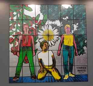 Gilbert & George, Three Ways, Galerie Thaddaeus Ropac, image Contemporary Lynx, Frieze Masters 2017
