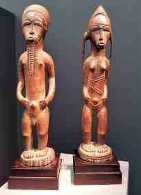 Asi Usu, Bush Spirit Couple. Ivory Coast, image Conteporary Lynx, Frieze Masters 2017