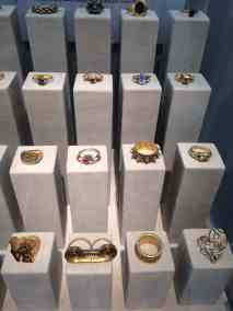 Byzantine Rings, Les Enluminures Gallery, image Contemporary Lynx, Frieze Masters 2017