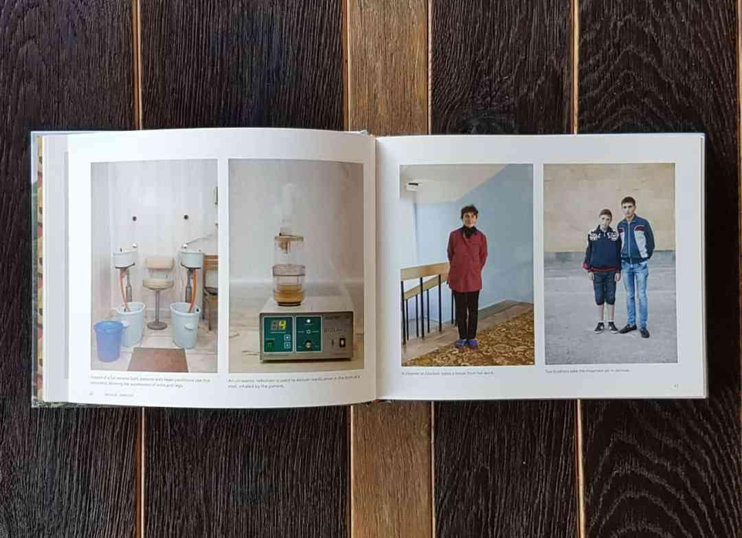 'Holidays in Soviet Sanatoriums' edited by Myram Omidi, published by Fuel, 2017